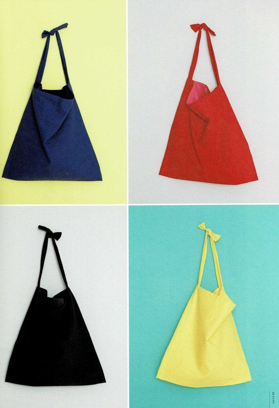 japanese tote bag sewing pattern