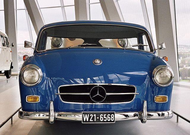 Visiting The Mercedes Benz Museum 1955 Mercedes Benz High Speed