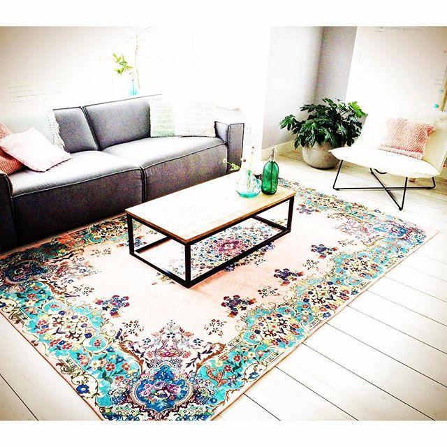 pastel vintage look rug from rozenkelim.nl Pastel vintage look ...