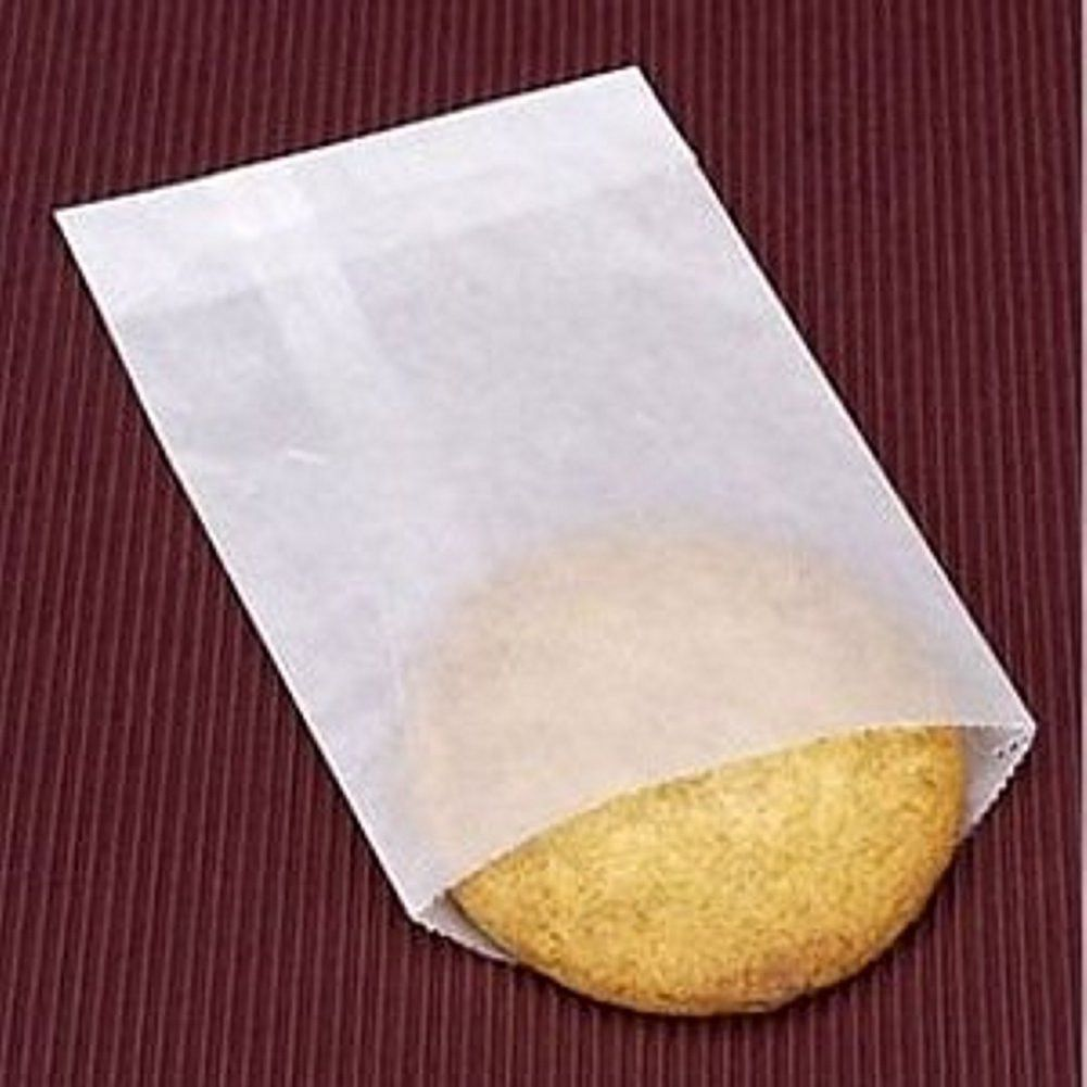 3in X 5 1 2in Glassine Waxed Paper Bags 100 Pack B S