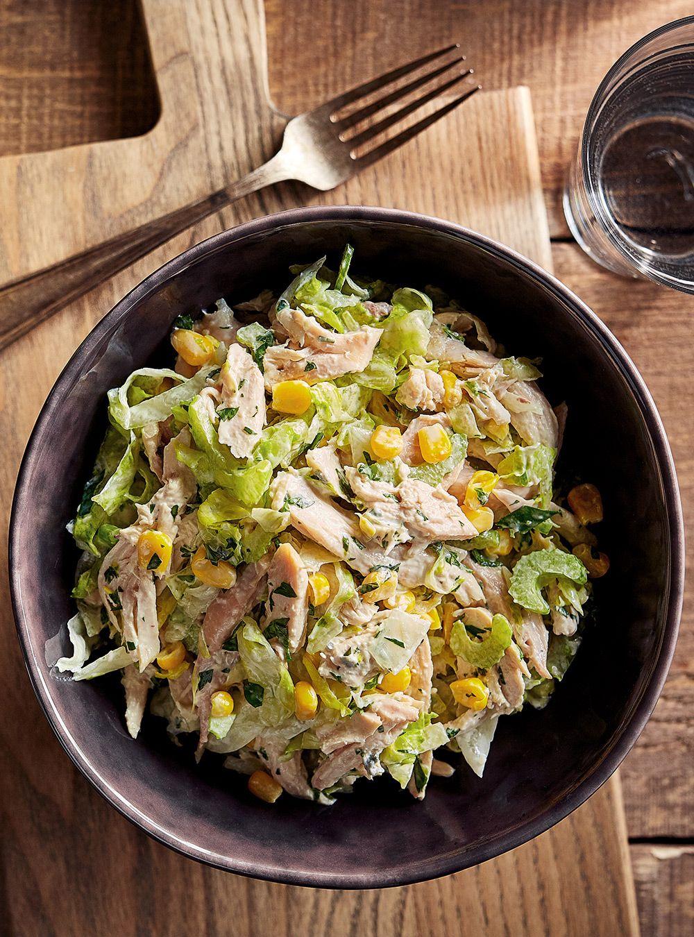 Salade de poulet Buffalo | Recette | Salade poulet, Poulet ...