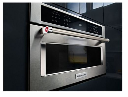 Kmbp100ess Kitchenaid 30 Built In Microwave Oven With Convection Cooking Stainless Steel