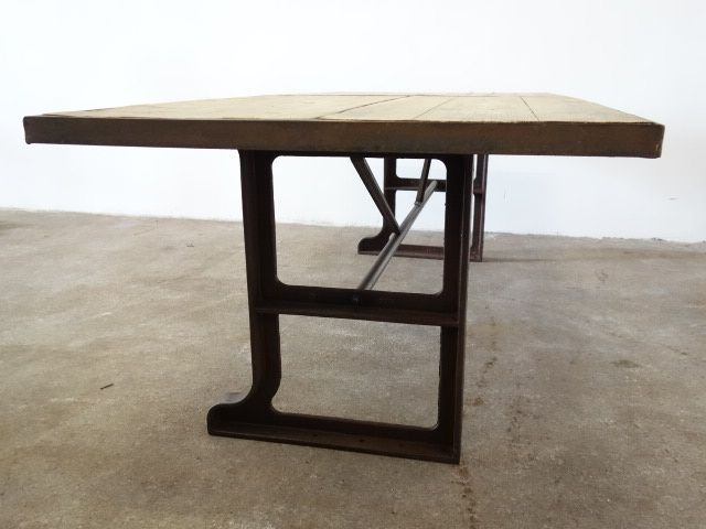 Steel wooden table vivre interieur nl houten tafelblad for Interieur vivre