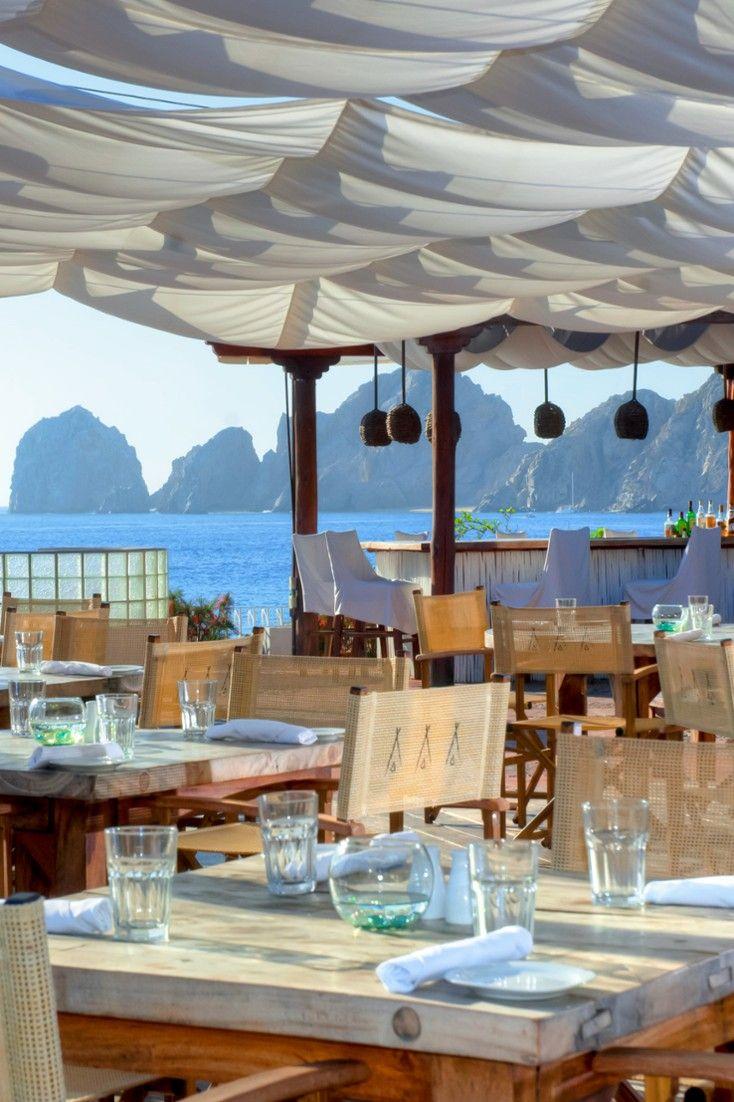 Nikki Beach S Restaurant Offers Up A Crowd Pleasing International Menu Plus Stellar Sea Views Me Cabo Los Cabos Mexico Jetsetter