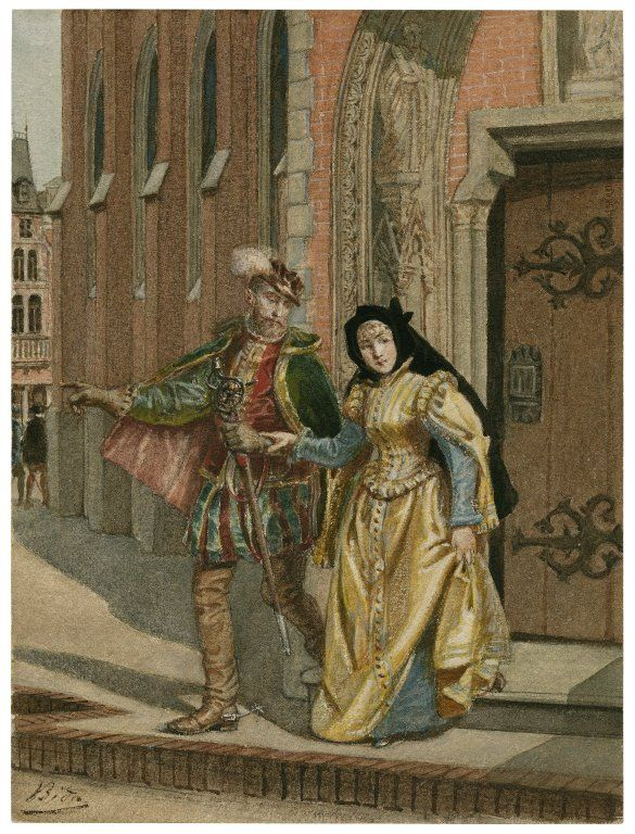 alexandre bida two gentlemen of verona act v scene 1 eglamour