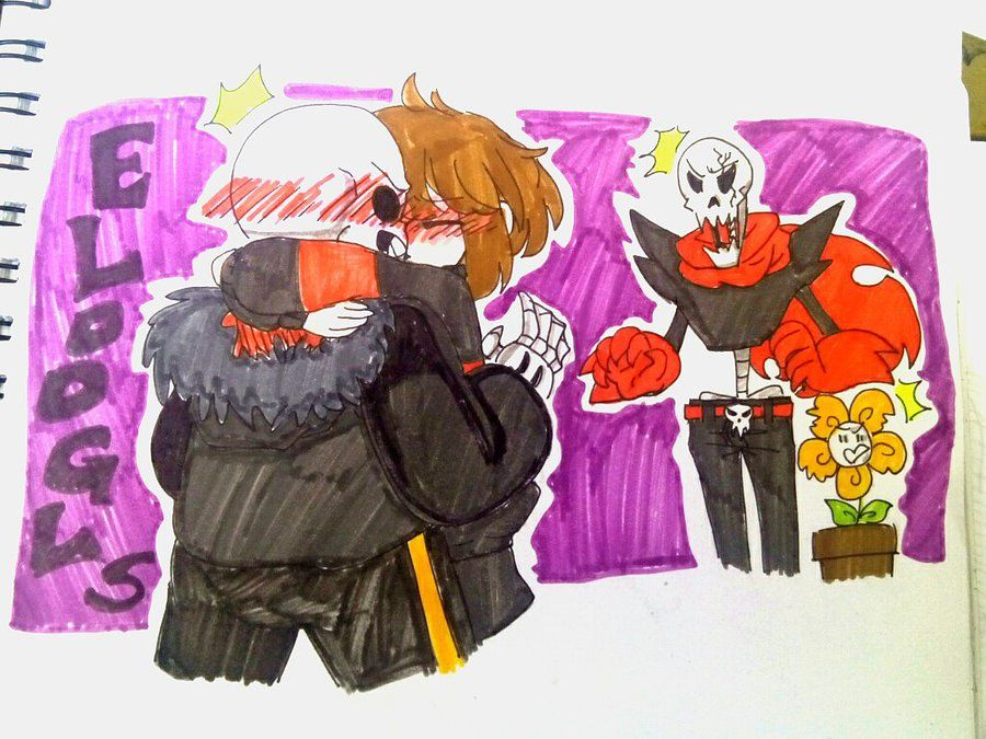 """Wow, this took me forever and a half. Anyways, I was listening to a few songs and one of them was about stars (no I'm not telling you which one it was) and I thought """"I wonder how Sans reacted when..."""