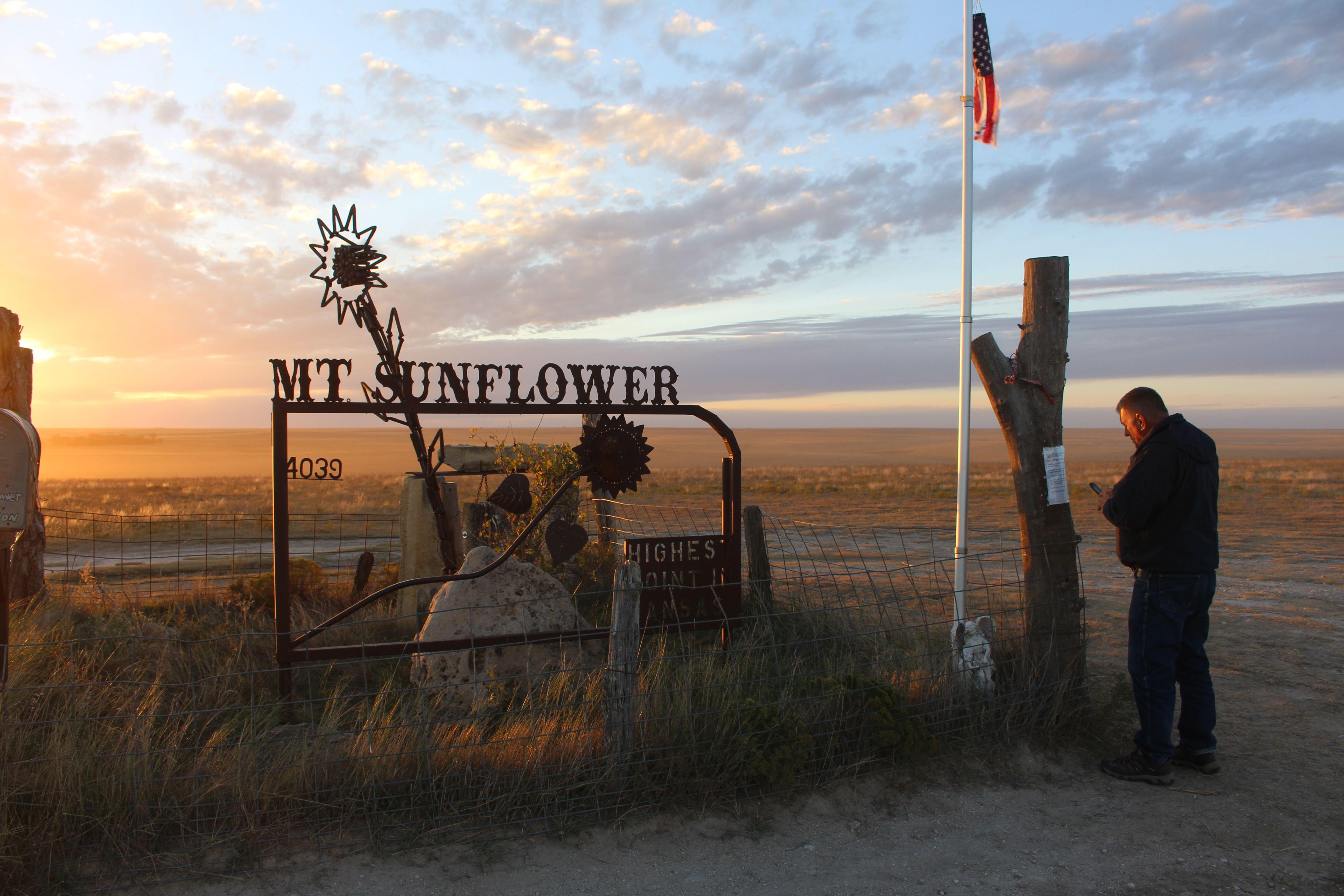 Weskan, KS - Mt. Sunflower: Highest Point in Kansas