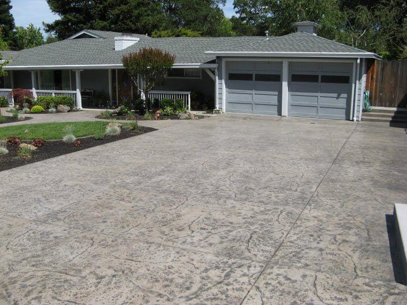 Photos By Application Davis Colors Concrete Color Stamped Concrete Driveway Concrete Driveways