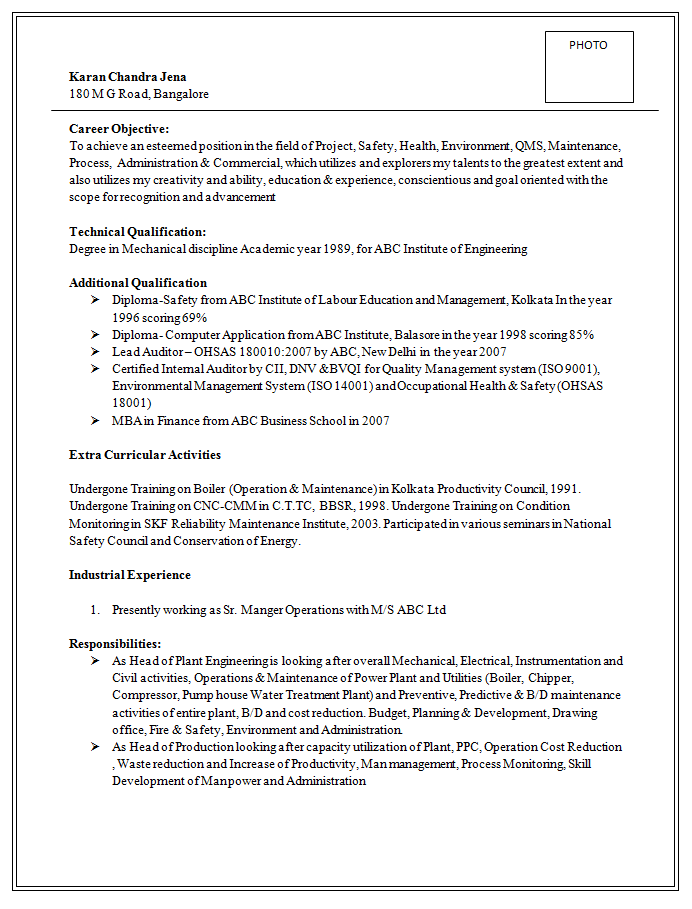 Resume Templates Doc Excellent And Professional Assistant Manager Resume Sample Doc 1
