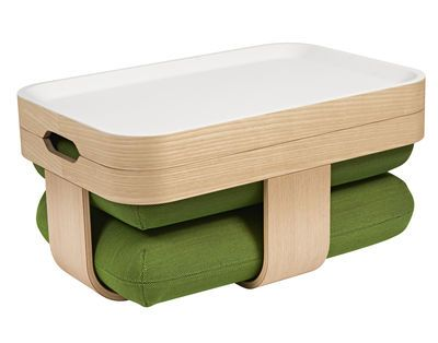 Table Basse Mister T Transformable En Pouf Et Repose Pieds Made