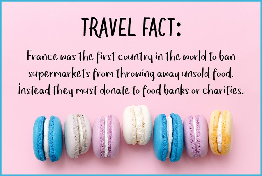 Fridayfact France Charity Travel Facts Facts About France Travel Blog