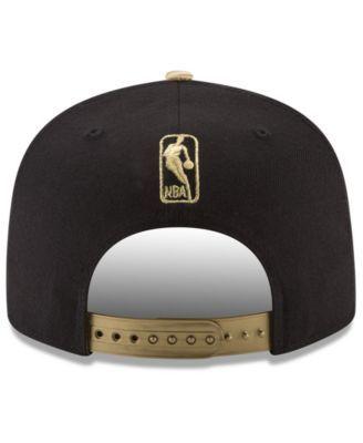 info for de5a2 27cb2 ... get new era brooklyn nets triple gold 9fifty snapback cap black gold  adjustable 4c09e 045bc
