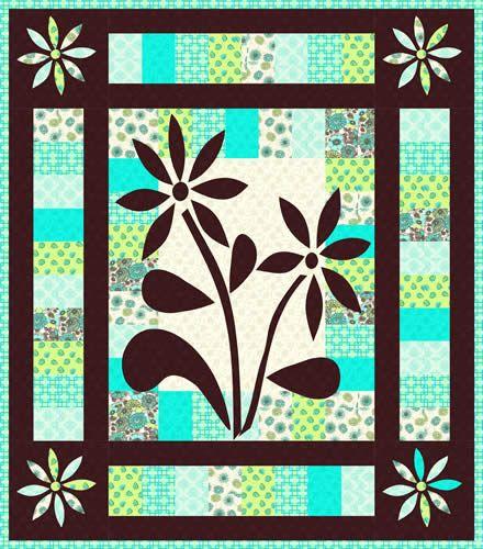 #167 Bryant Park Blooms pattern