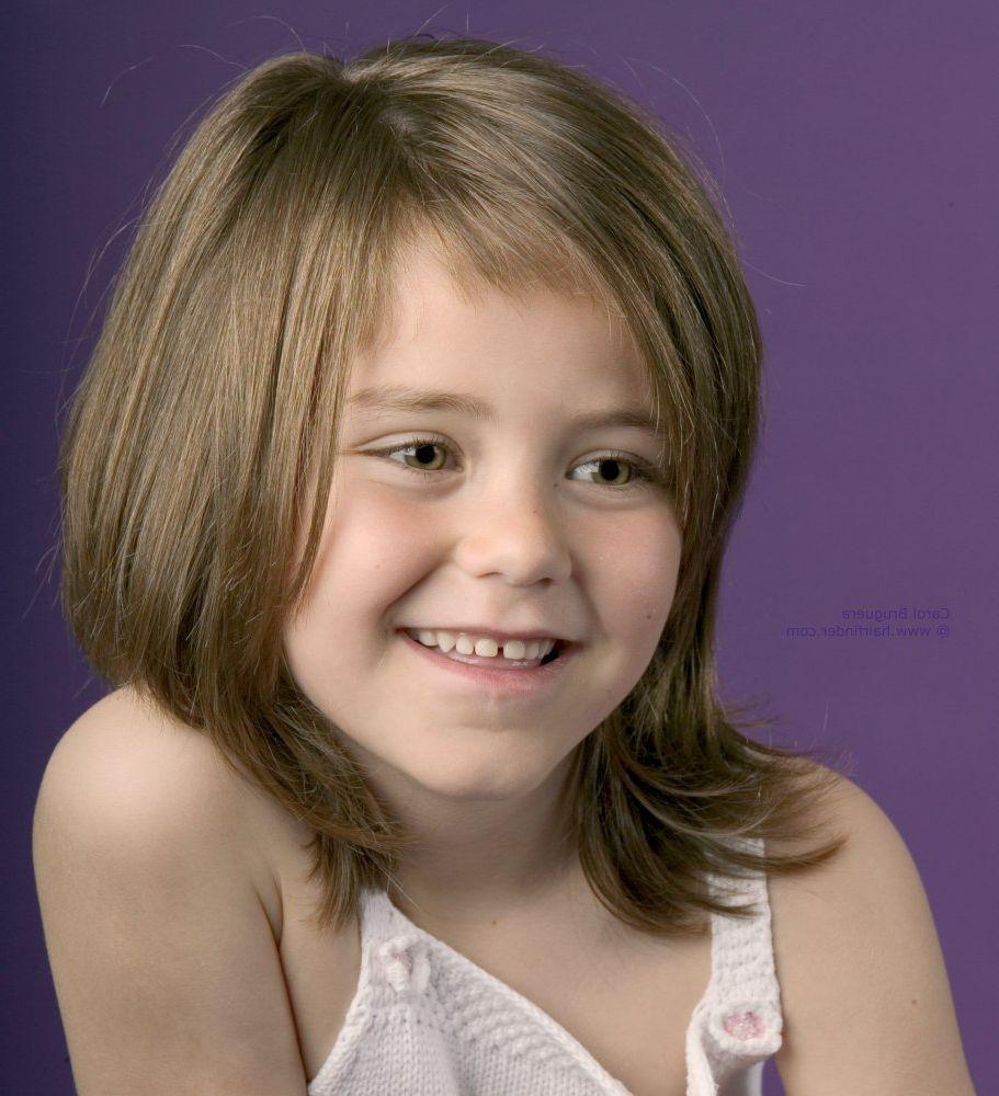 Little Girl Medium Length Haircuts With Bangs | Medium hair styles, Girls haircuts medium ...