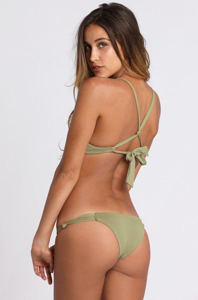 261286fd4913a 2015 Frankie's Bikinis Malibu Bottom in Camo Green Bikinis, Swimwear, Thong  Bikini, Fashion