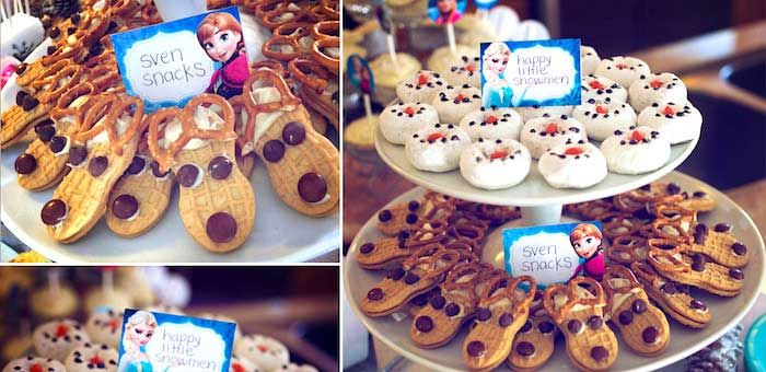 Disneys Frozen Themed Birthday Party Decor Planning Ideas