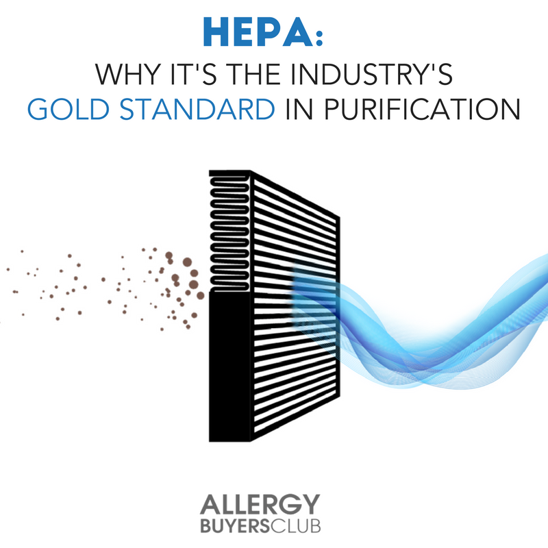 HEPA filters remove 99.97% of air particles that have a size of 0.3 microns  or more, and they're found in a variety of products. | AllergyBuyersClub