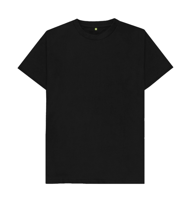 Pin Di Plain Black T Shirt