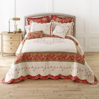 Home Expressionsâ?¢ Claudia Bedspread & Accessories found at ... : jcpenney bed quilts - Adamdwight.com