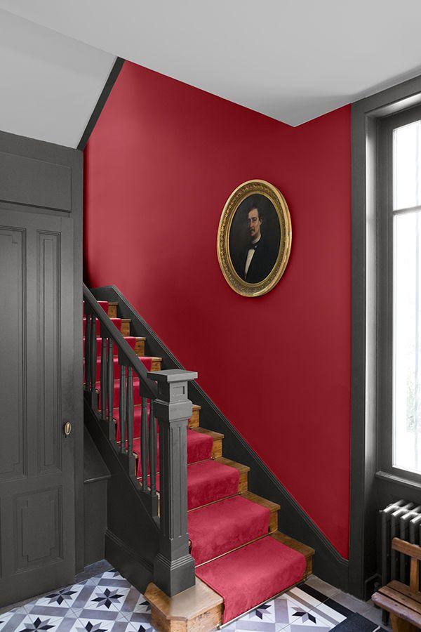 Velours De Peinture Couleur Rouge Odeon En 2020 Avec Images