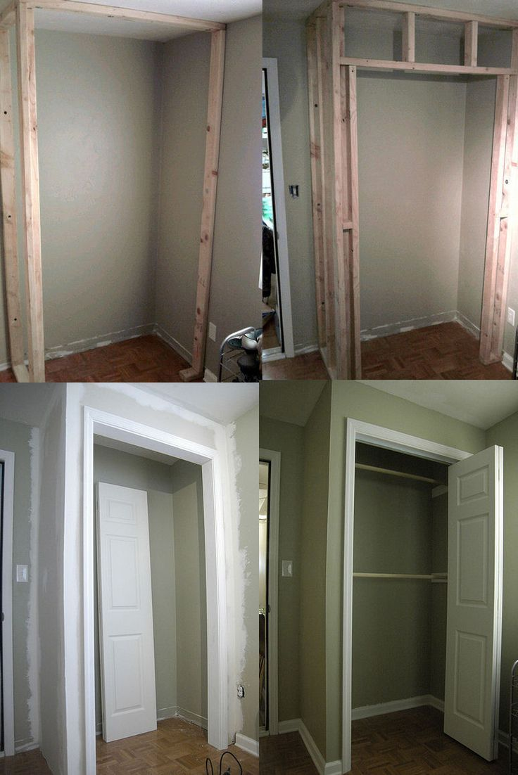 How To Build A Closet In An Existing Room Build A Closet