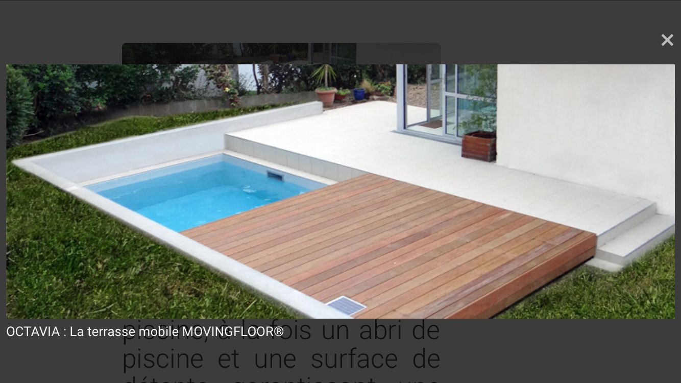 terrasse mobile exterior design pinterest backyard gardens and small pools. Black Bedroom Furniture Sets. Home Design Ideas