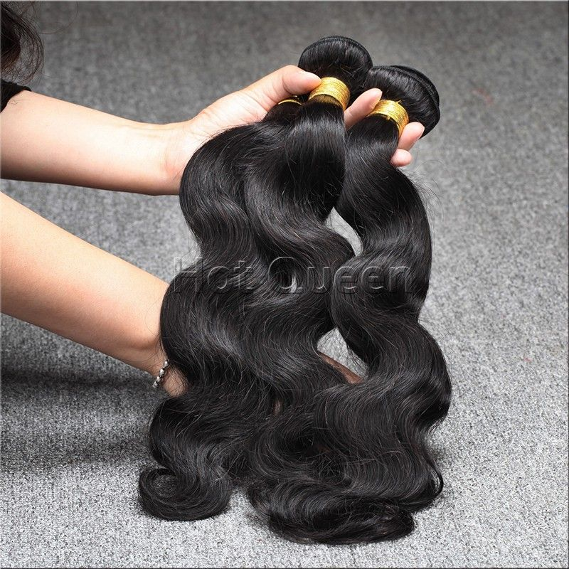 Unprocessed 6a Brazilian Virgin Hair Body Wave Human Hair Extension