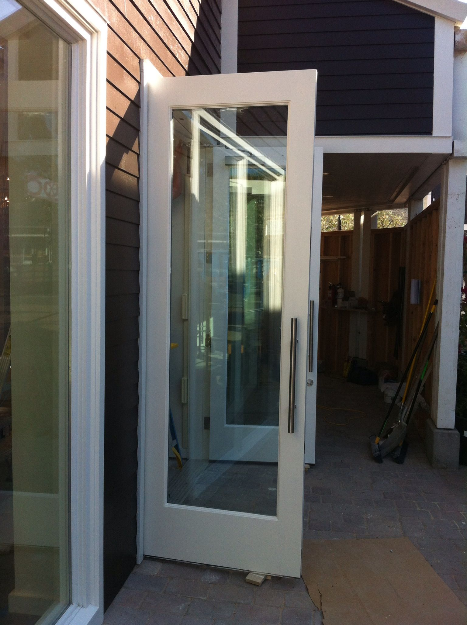 Custom Commercial Entry Door From White Bird Woods And Old