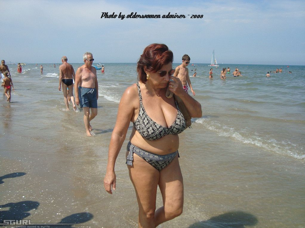 Older woman admirer