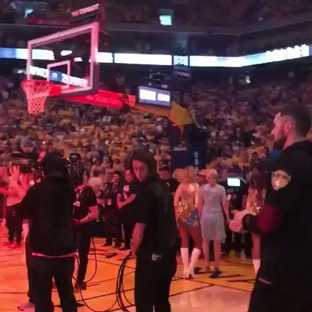 8966c6693f7a Golden State Warriors fans give J.R Smith a huge roar and standing ovation!  . . .  nba  nbafinals  lebron  lebronjames  kingjames  cavs  cavaliers…