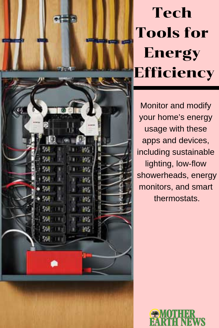 Tech Tools For Energy Efficiency Energy Efficient Homes Home Electrical Wiring Energy Efficiency