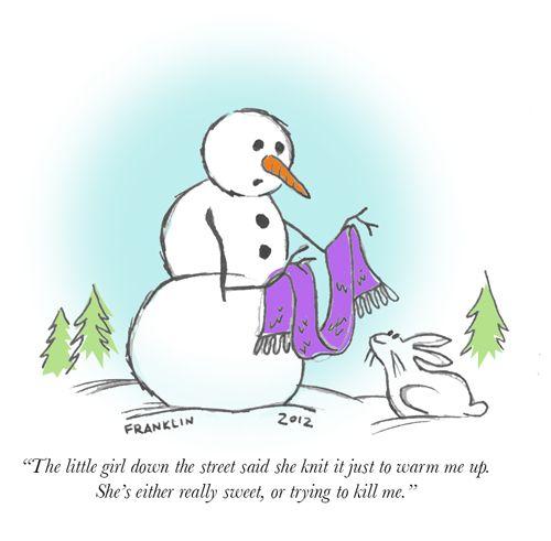 Christmas Knitting Quotes : Holiday creeps cartoon knitting humor and