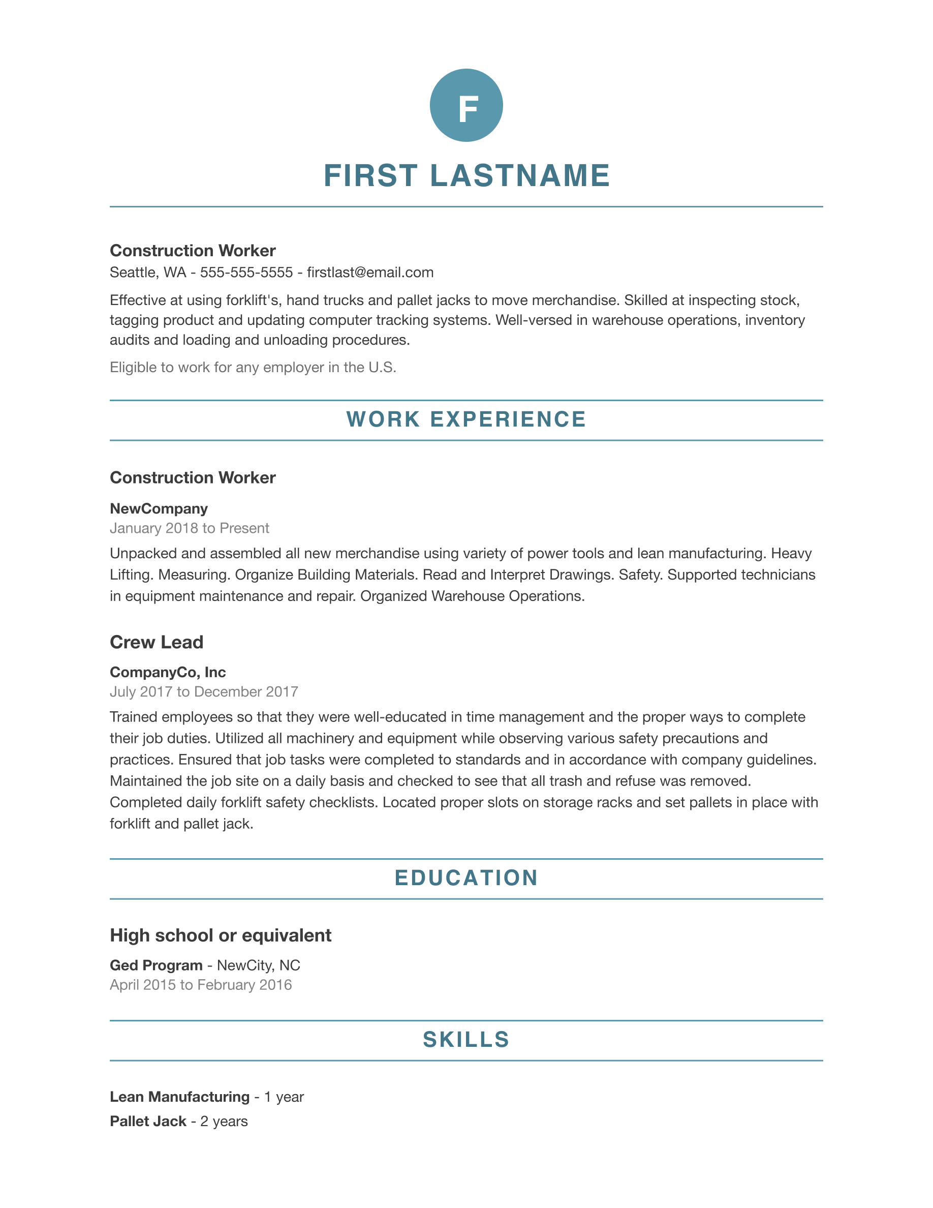 can help you build your resume and look for