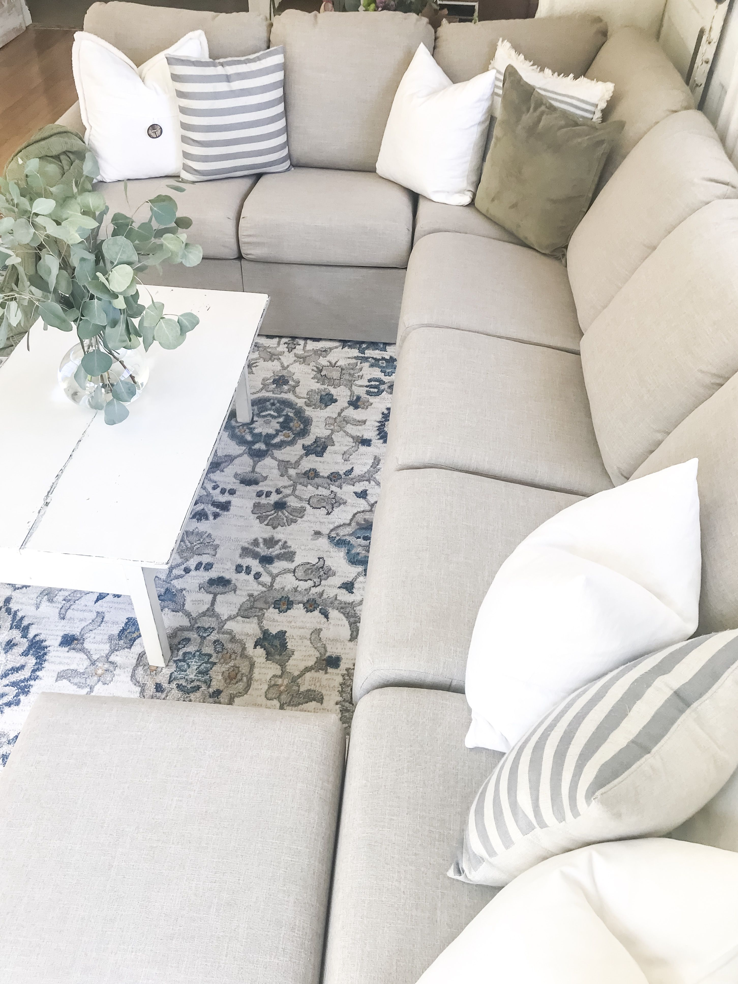 Home Reserve Laney Sectional Furniture Built In Storage Sectional Sofa #usa #made #living #room #furniture