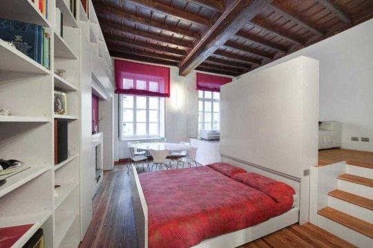 comment gagner de la place dans un petit appartement avec un lit tiroir bien s r for. Black Bedroom Furniture Sets. Home Design Ideas