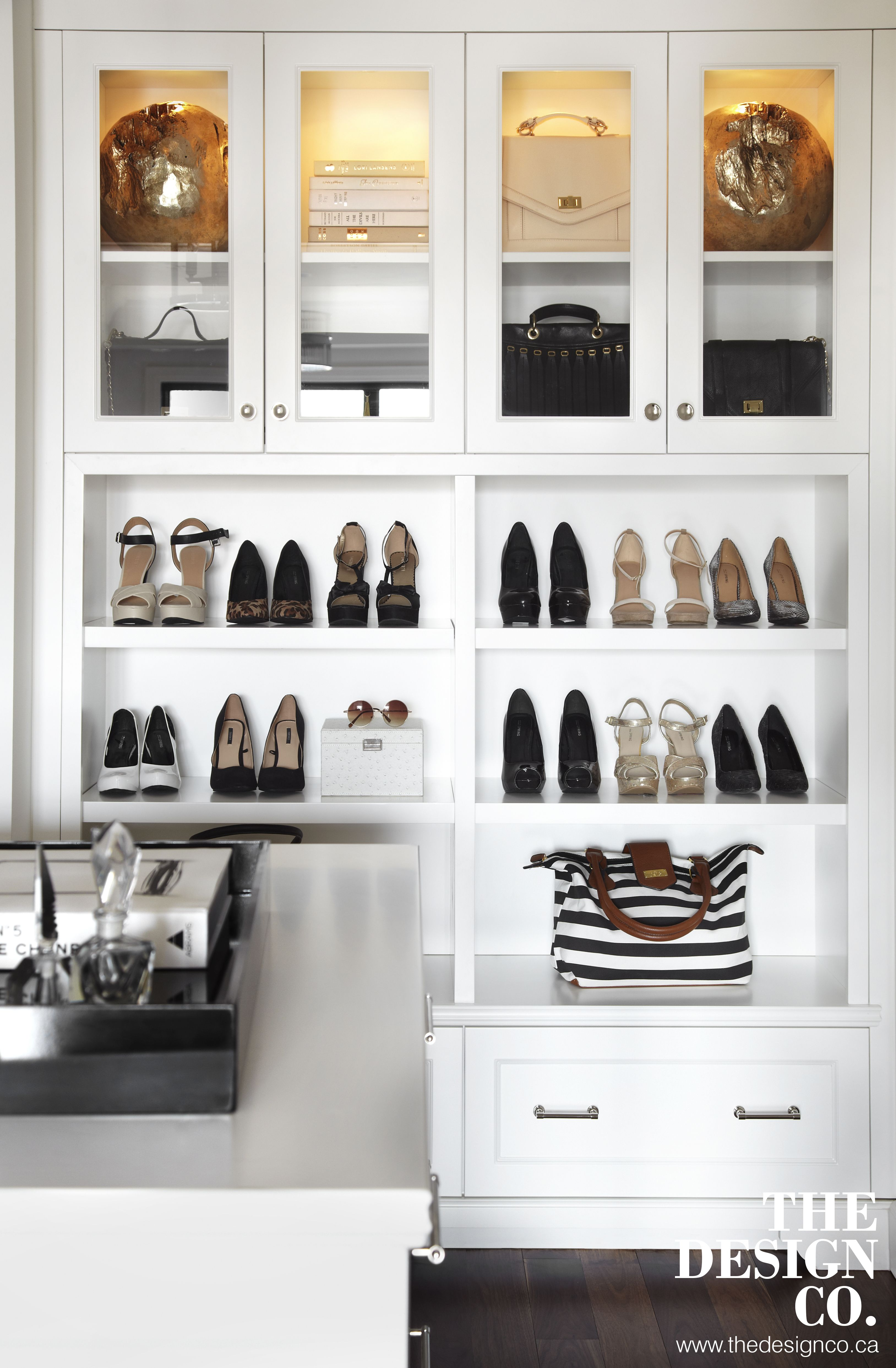 Fashion Closet, Custom Closet, Shoe Display, Walk In Closet, Purse Display