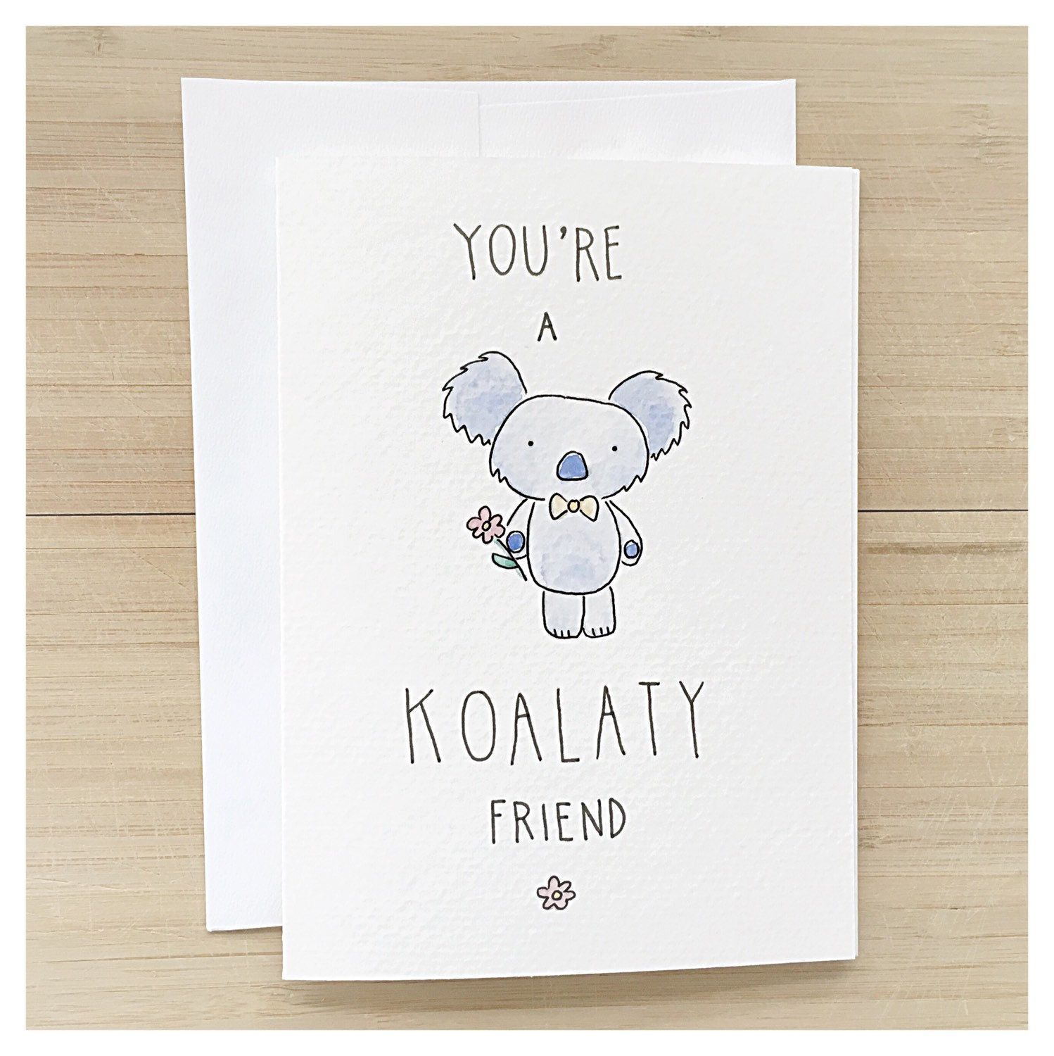 you koalaty friend koala bear punny birthday kenziecardco happy