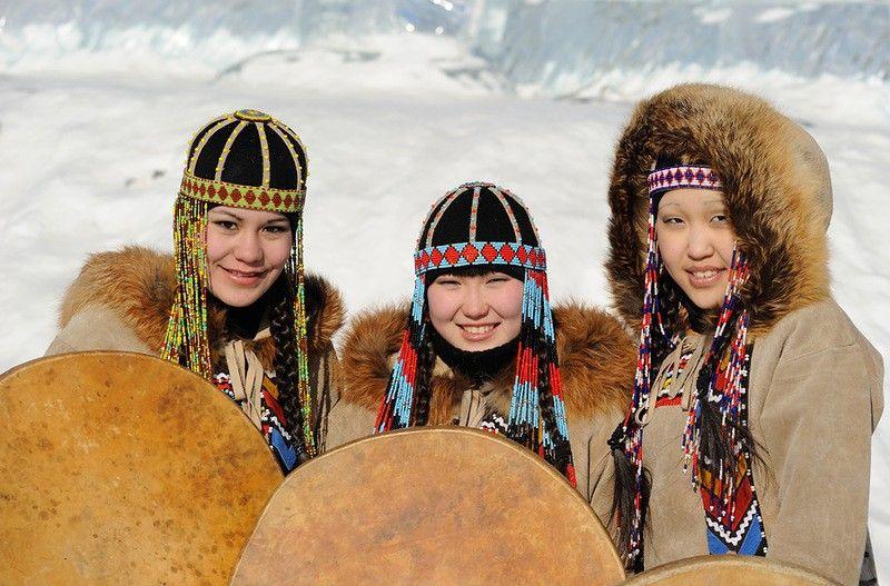 Национальная одежда  малочисленных народов Якутии