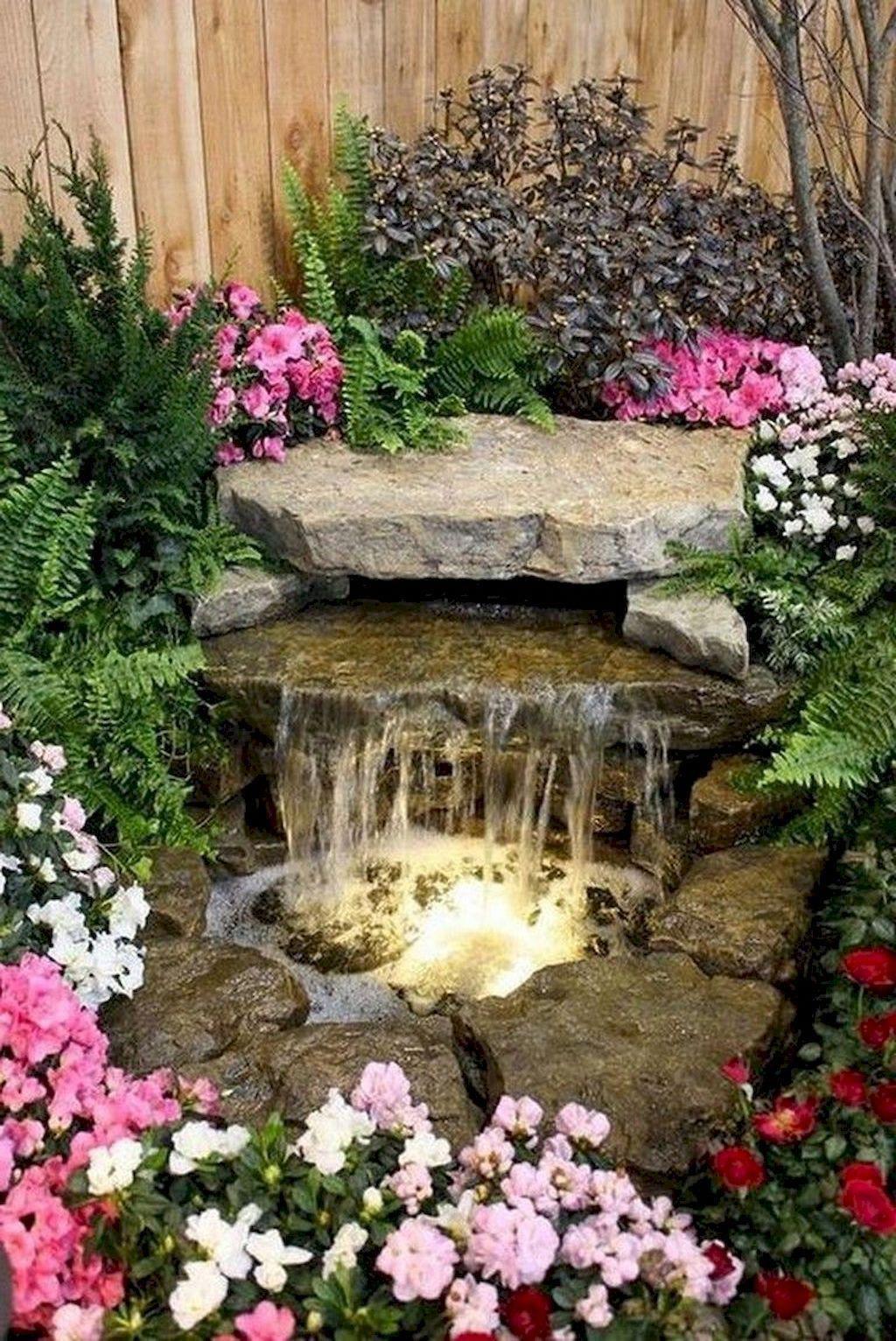 #backyardlandscapedesign | Small backyard gardens, Ponds ...