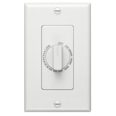 Broan Control with Automatic Timer in White Broan