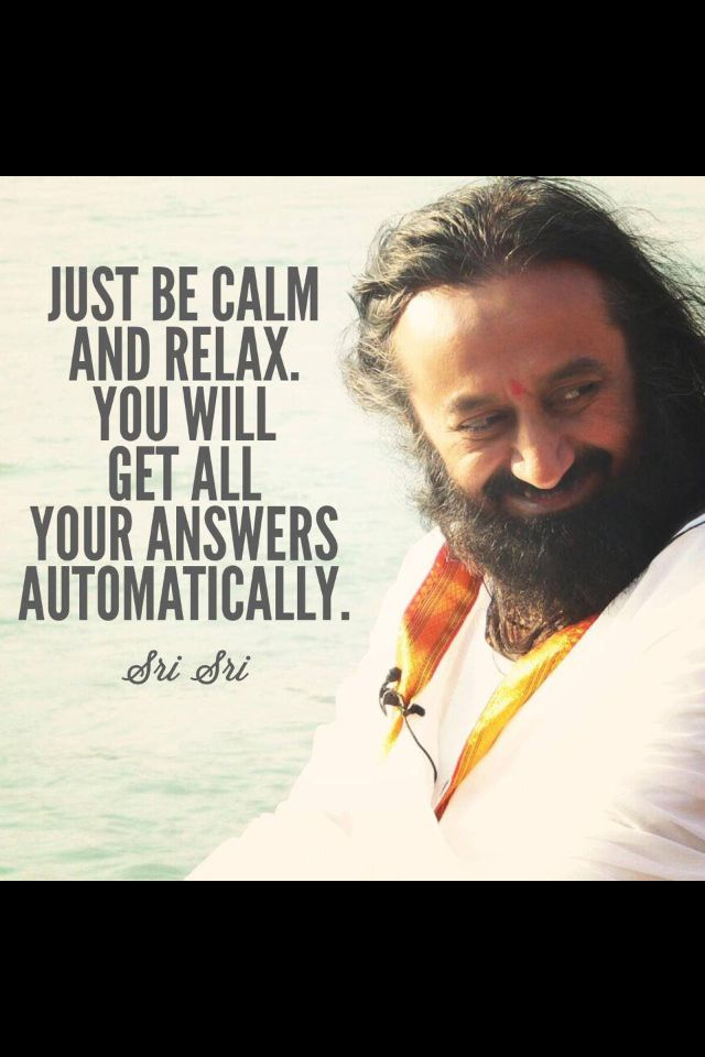 Sri Sri Ravi Shankar Yoga Namaste Life Lessons Mindfulness