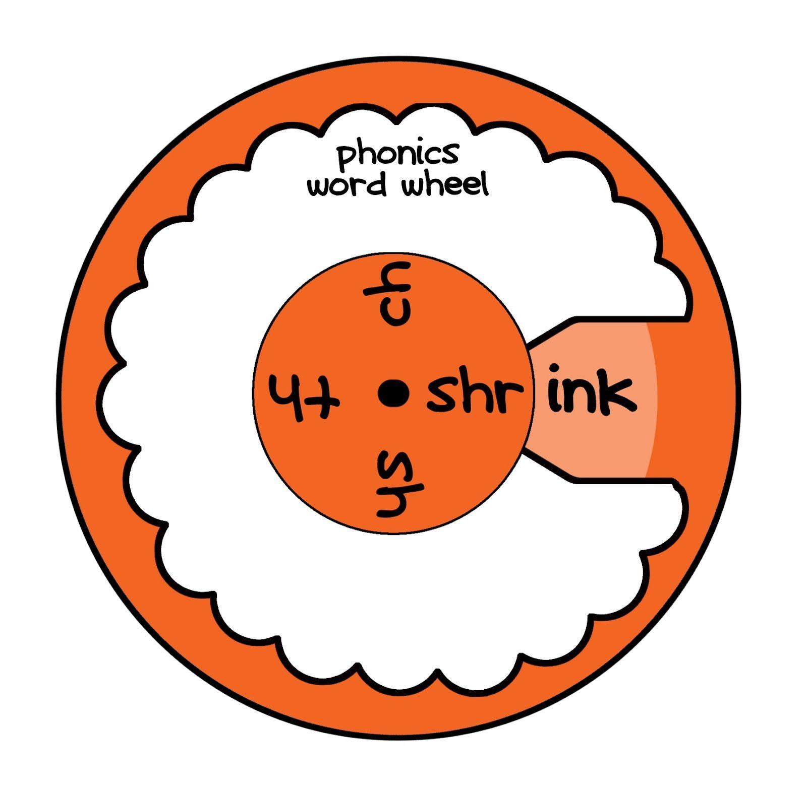 Phonics Wheel Orange Learning Tips Pinterest Phonics Phonics