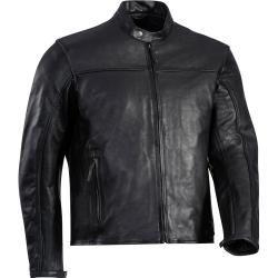 Ixon Crank-C Motorrad Lederjacke Schwarz 7xl Ixon #falloutfitsformoms