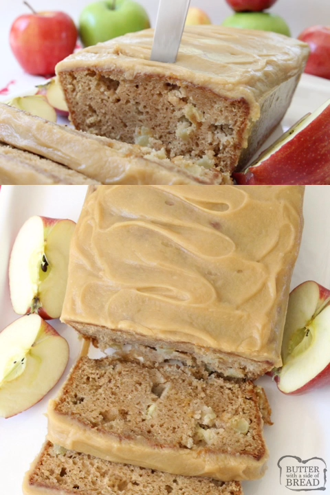 Caramel Apple Bread images