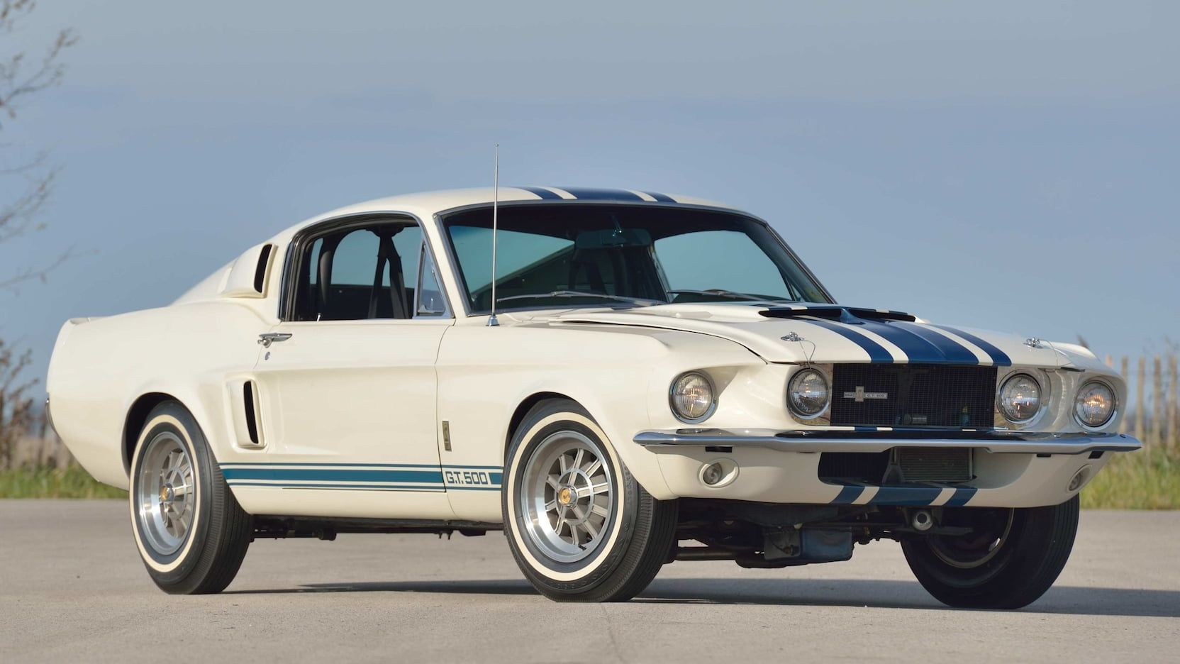 A one of one 1967 shelby gt500 super snake sold for 2 2 million at a mecum auction