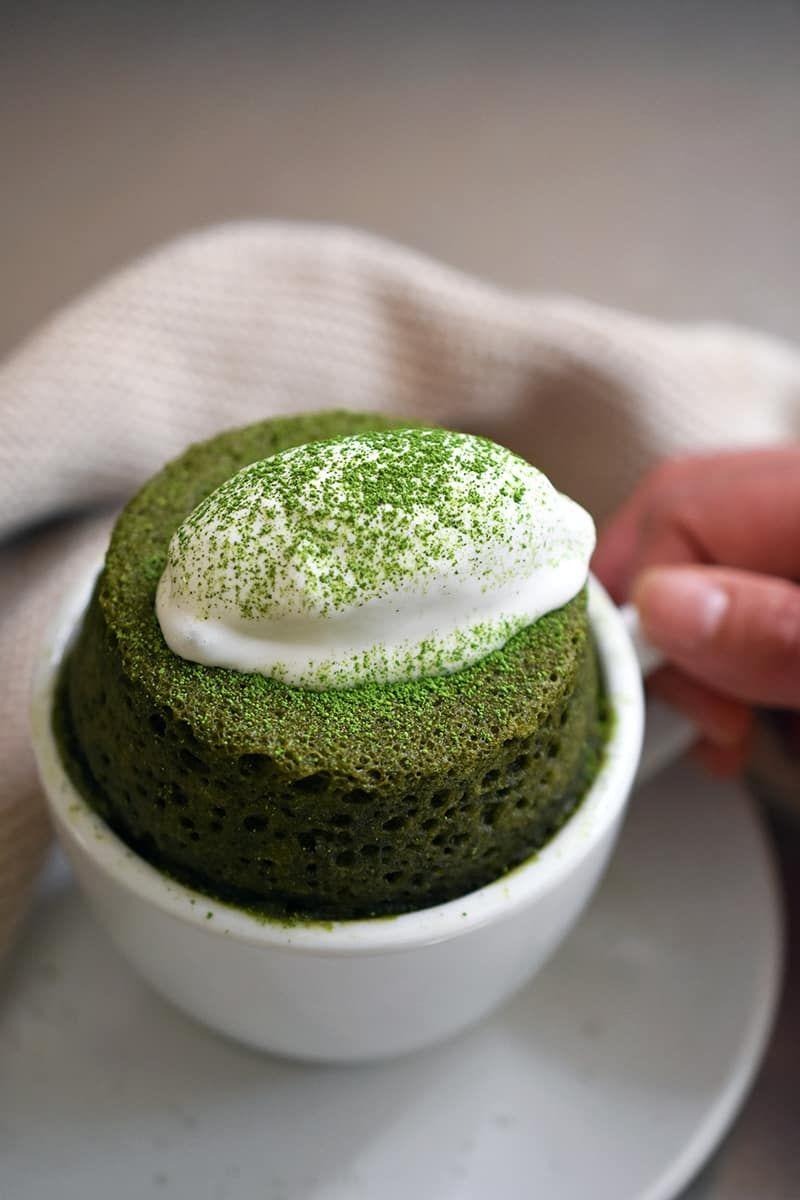 Photo of Matcha Mug Cake (Paleo, Gluten-Free) – Nom Nom Paleo®