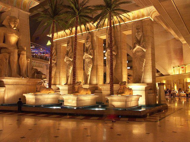 Inside The Luxor Hotel Las Vegas By Tricky Rick Harrison