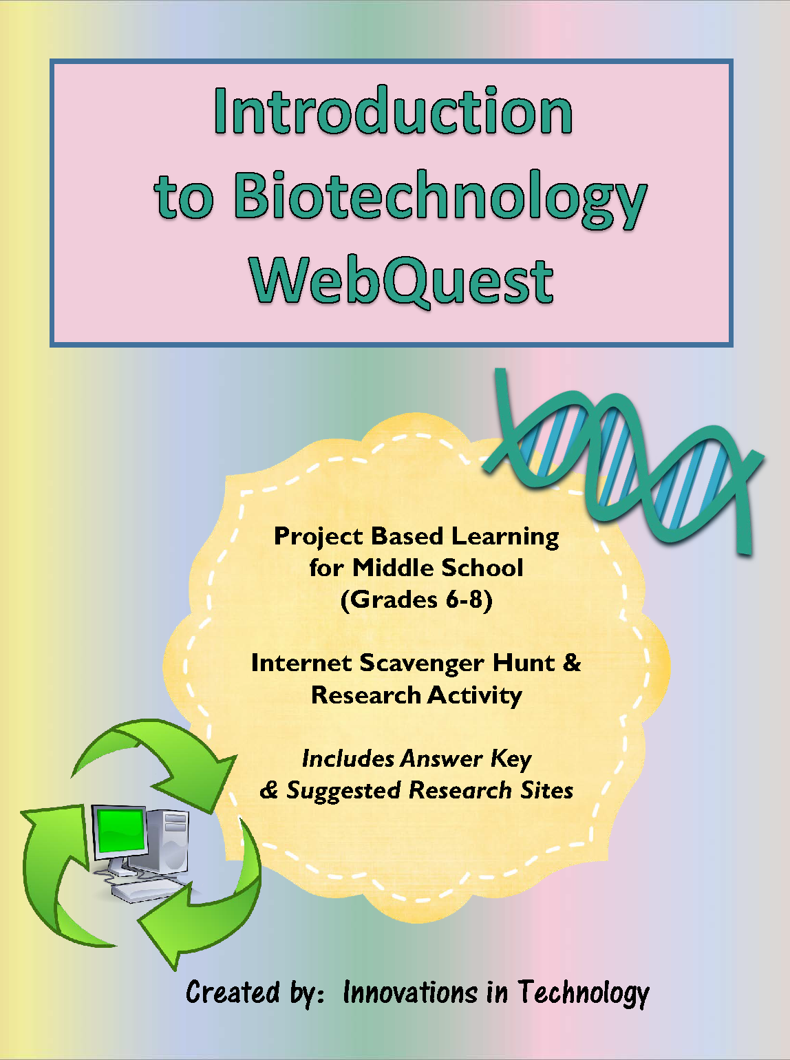 Webquest Internet Scavenger Hunt To Learn More About