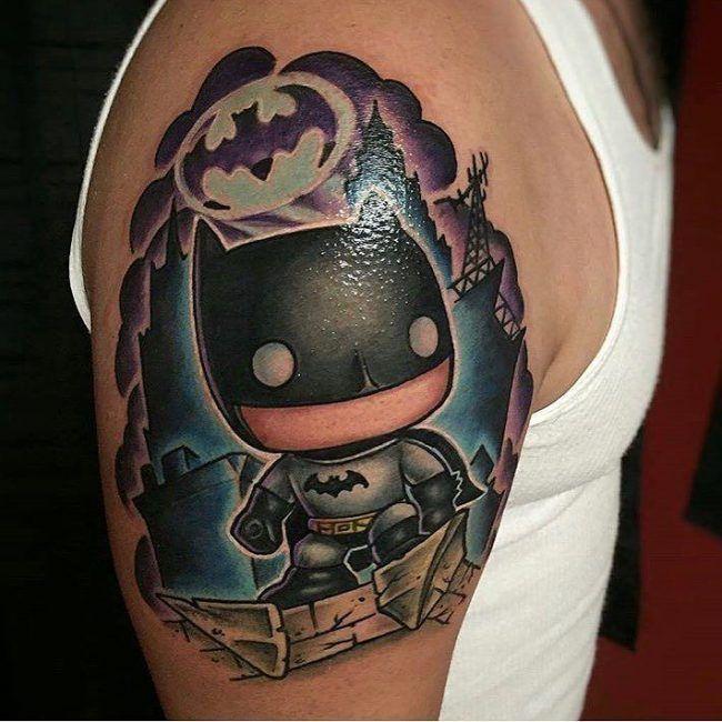 Pin By Renata Christiano On Tattoo Batman Tattoo Tattoos Tattoo Designs Men