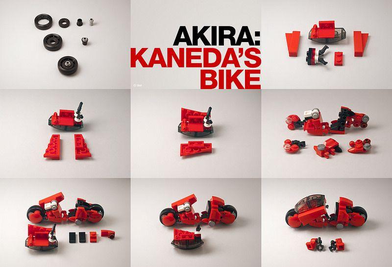 Akira – Kaneda's Bike _12 / Building Instructions | The whee ...